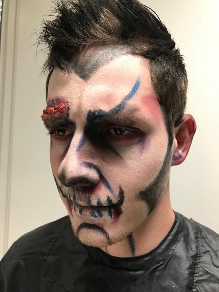 Halloween Grime zombie Frans Koopal