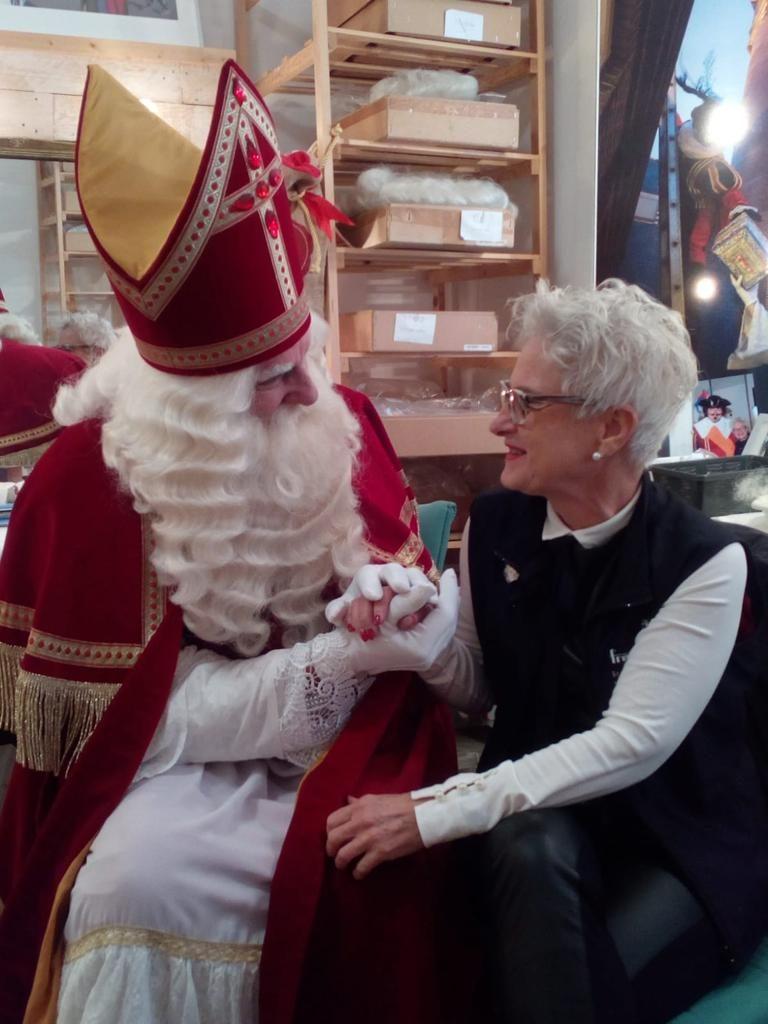 Grime Sinterklaas en Layla Koopal 1