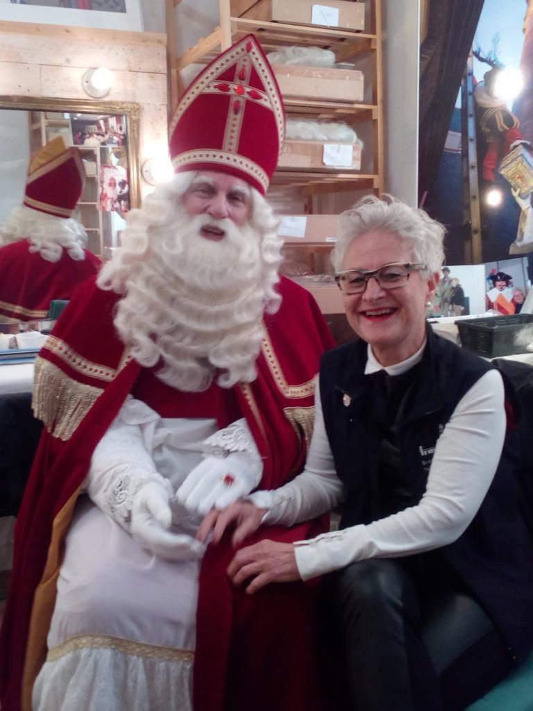 Grime Sinterklaas en Layla Koopal 2